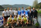 Sensacija: rusus aplenkę Lietuvos keturvietininkai iškovojo Europos irklavimo čempionato sidabrą!