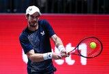 """""""Australian Open"""" besiruošiantis A.Murray'us nugalėjo pirmąją britų raketę"""