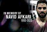 UFC ir JAV prezidentų bei TOK prašymai nebuvo išgirsti: Iranas atliko egzekuciją jaunam imtynininkui