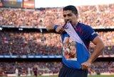 """Pirmajame """"El Clasico"""" – VAR sistemos įsikišimas, L.Suarezo """"hetrikas"""" ir triuškinanti """"Barcelona"""" pergalė prieš toliau skęstantį """"Real"""""""