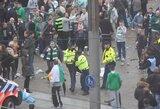 """""""Celtic"""" fanai užpuolė Amsterdamo policiją"""