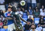 """Debiutinis M.Balotelli įvartis neišgelbėjo """"Brescia"""" nuo pralaimėjimo prieš """"Napoli"""""""