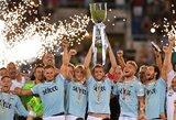 """""""Lazio"""" paguldė ant menčių """"Juventus"""" ir iškovojo Italijos supertaurę"""