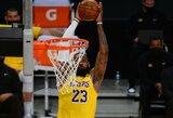 """""""Lakers"""" žaidė pratęsimą trečiose rungtynėse iš eilės"""