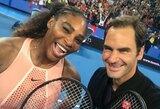 R.Federerio ir S.Williams vedamų rinktinių akistata baigėsi šveicarų pergale