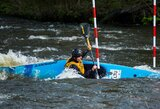 M.Atmanavičius ir E.Baranauskaitė nuskynė pergales Lietuvos baidarių slalomo čempionate