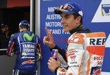 Australijos GP kvalifikacijoje – M.Marquezo pergalė ir smūgis pagrindiniam jo konkurentui
