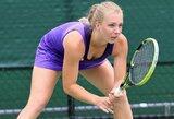 J.Eidukonytė Lenkijoje skina pergales ir užsitikrino mažiausiai 3 WTA vienetų reitingo taškus