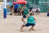 Lietuvos tinklininkai iškovojo svarbią pergalę Europos jaunimo čempionate