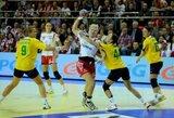 Lietuvos moterų rankinio rinktinė beviltiškai sutriuškinta Lenkijoje