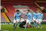 "Dvi grubios Alissono klaidos paskandino ""Liverpool"" prieš ""Man City"""