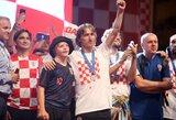 Pagarba: L.Modričius Kroatijos rinktinės žygį pasaulio čempionate pakvietė atšvęsti Dauno sindromu sergantį vaiką