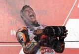 """Kova dėl titulo baigta: M.Marquezas – penkiskart """"MotoGP"""" pasaulio čempionas"""