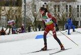 Pasaulio biatlono čempionatą lietuviai pradėjo prastu pasirodymu