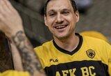 J.Mačiulio vedama AEK pateko į Graikijos taurės finalą
