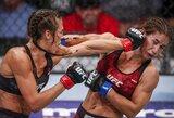 """""""UFC on FOX 30"""": įtikinamą pergalę iškovojusi J.Jedrzejczyk vėl taikosi į R.Namajunas"""
