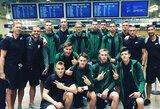 Lietuvos jaunučių rinktinė išvyko į Europos čempionatą
