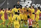 "L.Messi pelnė dublį, o ""Barcelona"" iškovojo pergalę"