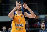 Brangiausių Eurolygos žaidėjų dešimtuke dominuoja Rusijos komandų krepšininkai
