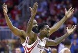 """Tritaškius pro šalį mėčiusi """"Rockets"""" pralaimėjo antrą kartą iš eilės"""