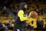 S.Curry grįžta į aikštę