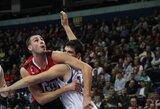 B.Dublevičius - naudingiausias Europos taurės pirmųjų ketvirtfinalio rungtynių krepšininkas