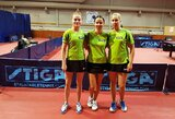 Komandinio Europos stalo teniso čempionato atrankoje – lietuvių pergalės