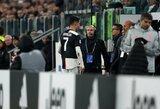 Nepasitenkinimo dėl anksti atlikto keitimo neslėpęs C.Ronaldo išvengė bausmės