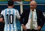 "A.Sabella: ""L.Messi yra tarsi vanduo dykumoje"""