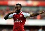"""A.Lacazette prašys A.Griezmanno prisijungti prie """"Arsenal"""""""