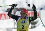 Vokietijos moterų biatlono rinktinė pirmą kartą šiame sezone laimėjo pasaulio taurės lenktynes