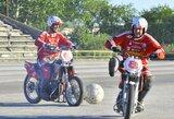 """Centrinės Europos motobolo lygoje """"Milda"""" užėmė trečią vietą"""