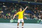 Geriausių pasaulio tenisininkų reitinge R.Berankis šį sezoną taip aukštai dar nebuvo