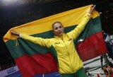 Sensacija: ieties metikė L.Jasiūnaitė iškovojo Europos čempionato medalį!