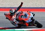 Naują rekordą pasiekęs J.Lorenzo laimėjo San Marino GP kvalifikaciją