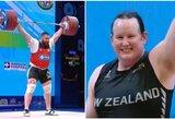 Pasaulio čempionate lytį pakeitęs vyras varžėsi su moterimis, gruzinas įspūdingai pagerino tris planetos rekordus