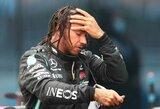 Septyniskart pasaulio čempionas: L.Hamiltonas laimėjo dramatiškas lenktynes šlapioje trasoje ir pavijo M.Schumacherį