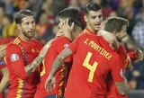 Europos čempionato atrankoje pergalėmis džiaugėsi Ispanijos ir Italijos rinktinės