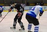 """Ledo ritulio čempionate """"Hockey punks"""" net ir kumščiais pergalės nepasiekė"""