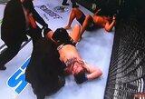 """NFL žvaigždės debiutas baigėsi diskvalifikacija, """"Kaubojus"""" toliau gerina UFC visų laikų rekordus"""