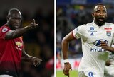 """""""Sky Sports"""": R.Lukaku išvykimo atveju """"Man United"""" sieks įsigyti M.Dembele"""