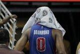 """""""Pistons"""" vidurio puolėjas lygiuojasi į D.Jordaną"""