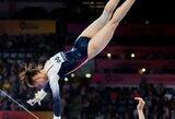 A.Vostruchovaitė pasaulio sportinės gimnastikos čempionate – 19-a