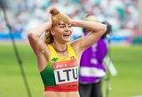 A.Andriukaitytė bėgs Europos jaunimo čempionato finale