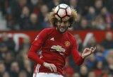 """Dar vienas smūgis """"Manchester United"""": M.Fellaini patyrė kelio sąnario traumą"""