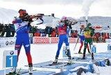 Pasaulio biatlono taurės persekiojimo lenktynėse – K.Makkarainen ir M.Fourcade'o pergalės