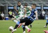 """6 įvarčių fiesta baigėsi """"Inter"""" ir """"Sassuolo"""" lygiosiomis"""