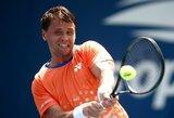 Į JAV išskridęs R.Berankis sužinojo pirmąjį varžovą ATP 500 turnyre