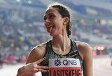 """Rusijos vėliavos į rankas paimti negalėjusi M.Lasickienė: """"Pirmą kartą laimėjau tokiu keistu būdu"""""""
