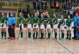Lietuvos riedulininkės pergalingai baigė kovas Europos čempionato antrajame divizione